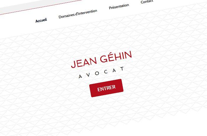 Site de Me Jean Géhin, avocat à Epinal