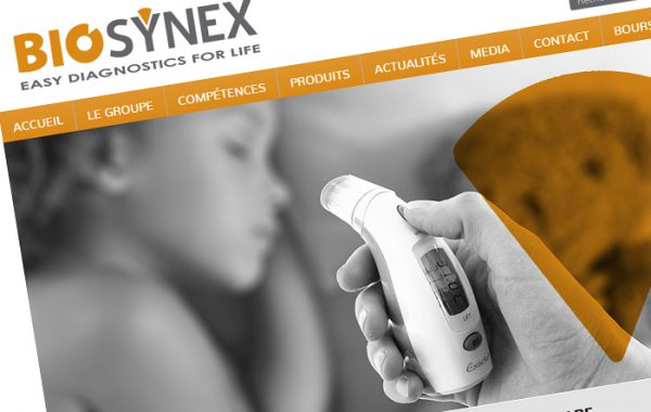 Site institutionnel du groupe Biosynex