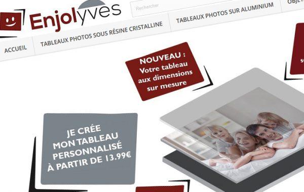 Enjolyves – Site e-commerce de produits photos personnalisables