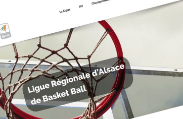 Site de la Ligue d'Alsace de basketball