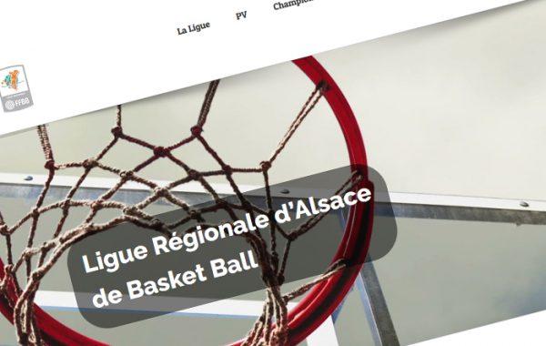 Site de la Ligue d'Alsace de basketball