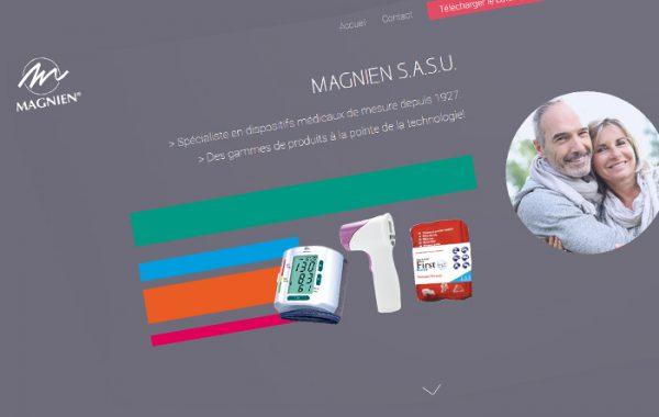 Refonte identité visuelle Magnien : Packaging + PLV + site institutionnels
